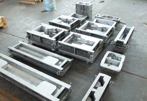 金属型模具8