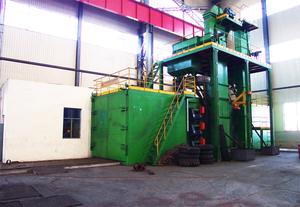 60吨台车式抛丸清理机