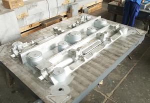 金属型模具4