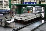96吨球铁转台